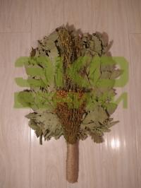 Дубовый веник с травами