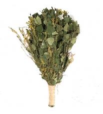 Березовый веник с травами